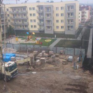 Bloki przy Bora Komorowskiego